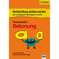 Themenheft 4: Betonung Cover
